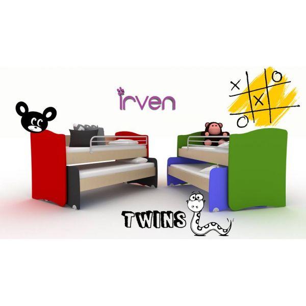 ΚΟΥΚΕΤΑ  TWINS - IRVEN 430€